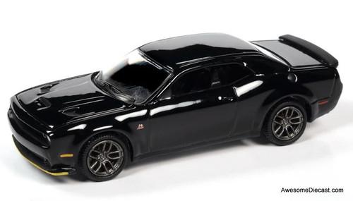 AutoWorld 1:64 2019 Dodge Challenger R/T Scat Pack, Pitch Black