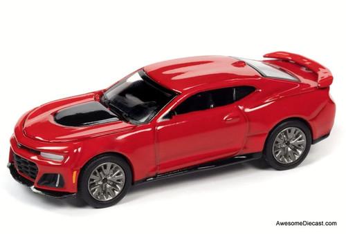 AutoWorld 1:64 2018 Chevrolet Camaro ZL1, Red Hot
