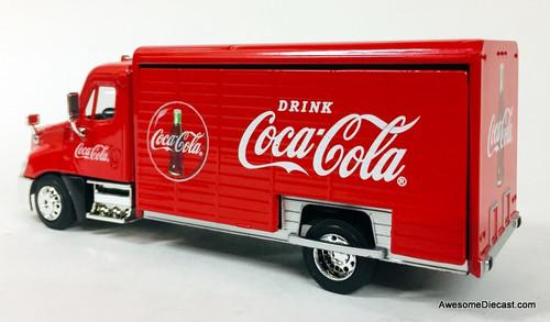 Motor City Classics 1:50 Freightliner Delivery Truck: Coca Cola