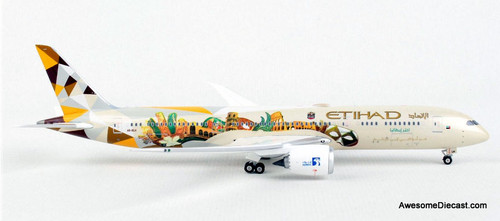Phoenix 1:400 Boeing 787-9:Etihad Airways (Choose Italy Livery)