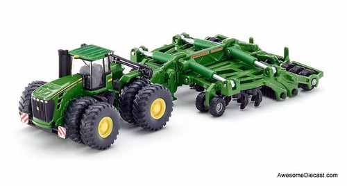 SIKU 1:87 John Deere 9630 Tractor w/ Amazone Cultivator