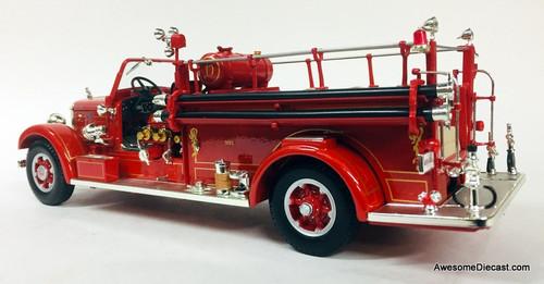 Lucky Diecast 1:24 1935 Mack Type 75BX Fire Truck: Hanover Fire Department