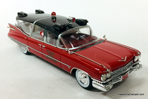 Neo 1:43 1959 Cadillac Superior Ambulance: Chicago Fire Department