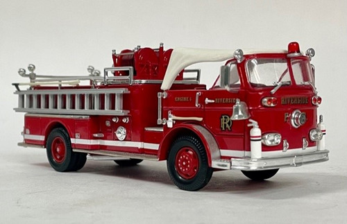 Corgi Estate Collection 1:50 Seagrave K Pumper w/ Canopy: Riverside F.D.
