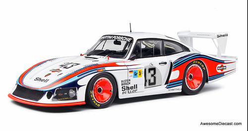 Solido 1:18 1978 Porsche 935 Mobydick: 24 Hours Le Mans #43