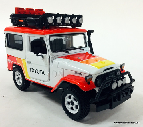 Motor Max 1:24 Toyota FJ40 Land Cruiser 4x4: TRD Off Road
