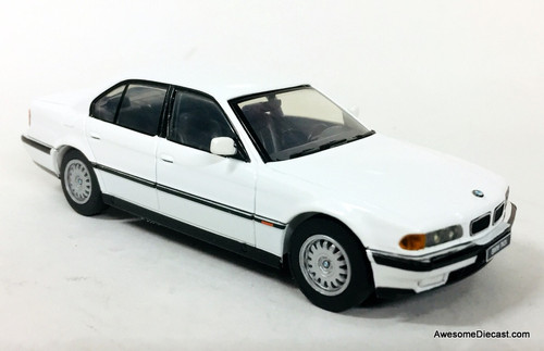 Herpa 1:43 1996 BMW 740i, Alpine White