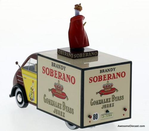 Hachette 1:43 1960 DKW F89 Delivery Truck: Soberano Brandy