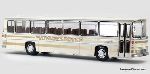 Hachette 1:43 1970 Saviem E7L Motor Coach: Canadian Sotra Trips