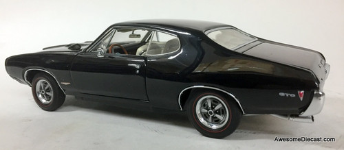 Danbury Mint 1:24 1968 Pontiac GTO Coupe, Black
