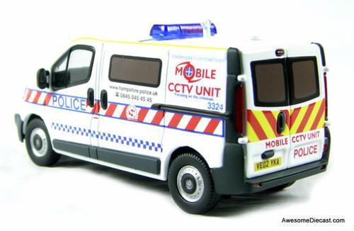 Corgi 1:50 2002 Vauxhall Vivaro Mobile Police CCTV Unit: Hampshire Constabulary