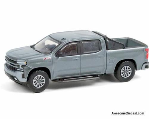 Greenlight 1:64 2020 Chevrolet Silverado, Satin Steel Metallic