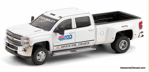 Greenlight 1:64 2017 Chevrolet Silverado 3500HD : Official Truck 101th Indianapolis 500