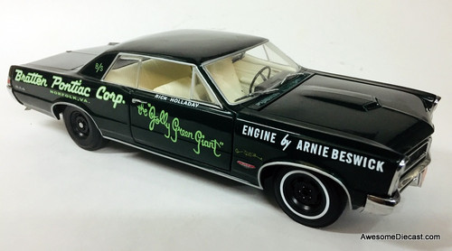 Sun Star 1:18 1965 Pontiac GTO: Rick Holladay's 'Jolly Green Giant""