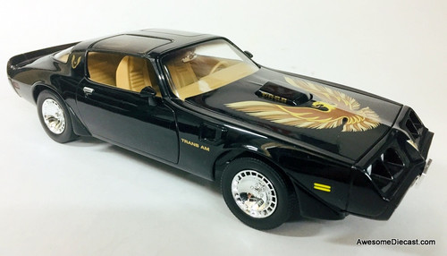 Road Signature 1:18 1979 Pontiac Firebird Trans Am, Black