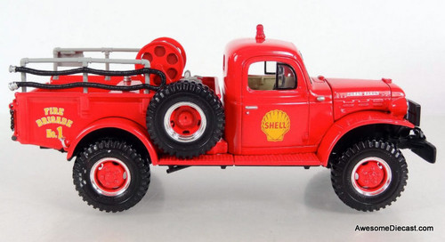 Only One!! First Gear 1:30 Dodge Power Wagon Fire Brush Unit: Shell Oil