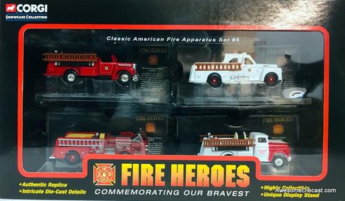 Corgi Classic American Fire Apparatus Set #5