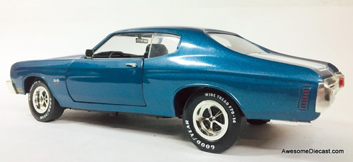American Muscle 1:18 1970 Chevrolet Chevelle SS 454 LS6, Metallic Blue