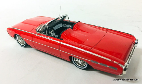 Ford Parts Models 1:43 1962 Ford Thunderbird Sports Roadster, Rangoon Red