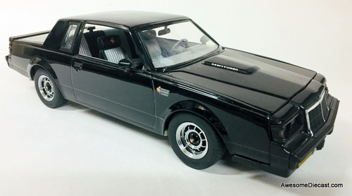 GMP 1:18 1986 Buick Grand National, Black