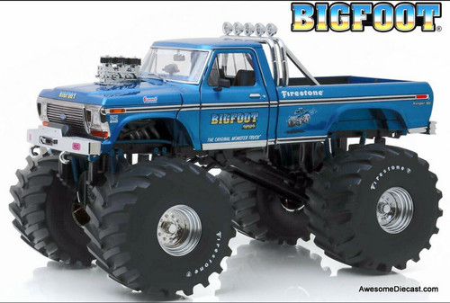 Greenlight 1:18 1974 Ford F-250 Monster Truck: Bigfoot #1