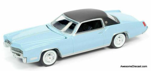 AutoWorld 1:64 1967 Cadillac Eldorado, Venetian Blue: Hemmings Classic Car