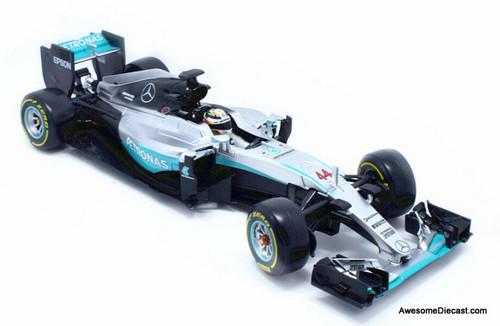 Burago 1:18 Mercedes Benz W07 Hybrid Formula 1: Petronas Team Lewis Hamilton