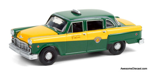Greenlight 1:64 1960 Checker Marathon Taxi Cab: 60th Anniversary Edition