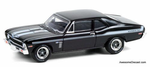 Greenlight 1:64 1969 Chevrolet Yenko Copo Nova, Tuxedo Black