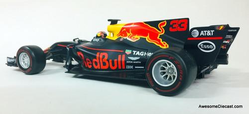 Burago 1:18 2017 Formula 1 Red Bull Racing 13 Tag Heuer #33:  Max Verstappen