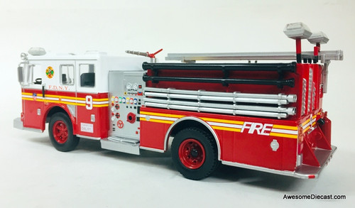 Hachette 1:43 Seagrave Pumper Fire Truck: FDNY