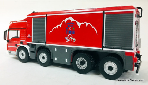 Hatchette 1:43 MAN TGS  Proteus Tunnel Fire / Foam Truck