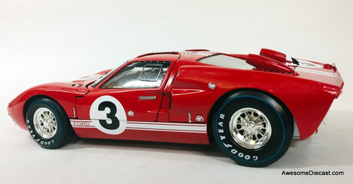 Shelby Collectibles 1:18 1966 Ford GT-40 MK 11 #3: Dan Gurney