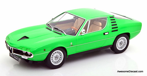 KK Scale 1:18 1970 Alfa Romeo Montreal, Green