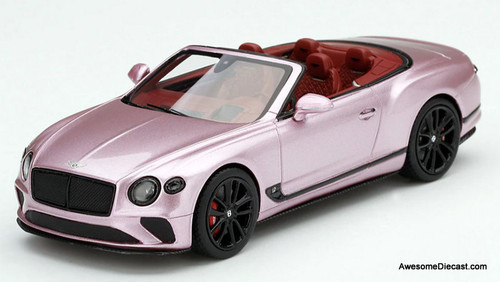 TSM 1:43 2019 Bentley Continental GT Convertible, Passion Pink