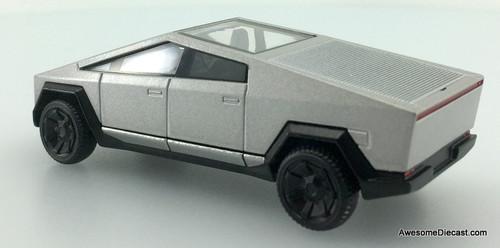 Xcar 1:64 2021 Tesla Cybertruck, Metallic Silver