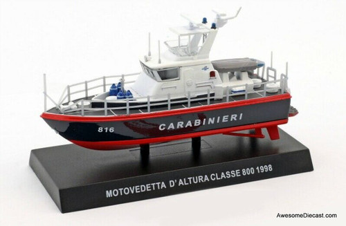 Hachette 1:128 1998 Class 800  Offshore Patrol Boat: Venice Police, Italy