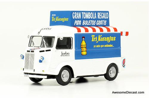 Hatchette 1:43 1959 Citroen Type H Delivery Truck: TriNaranjus ( Spanish Orange Juice)