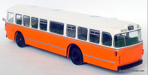 Atlas 1:72 1969 Scania Vabis D11 Transit Bus