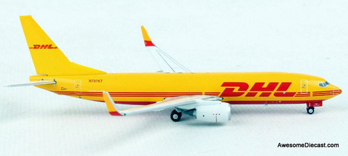 Gemini Jets 1:400 Boeing 737-800BDSF: DHL Couriers