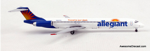 Gemini Jets 1:400 McDonnell Douglas MD-80: Allegiant Air