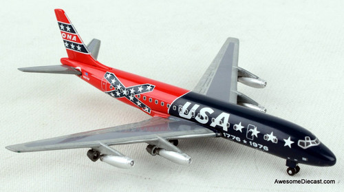 Gemini Jets 1:400 McDonnell Douglas DC-8-21: Overseas National Airway, Confederate Livery