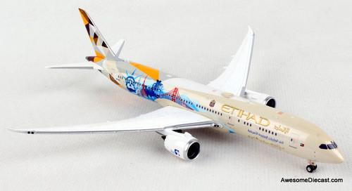 Phoenix 1:400 Boeing 787-9:Etihad Airways (Choose The USA Livery)