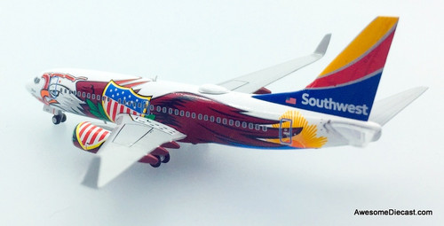 Gemini Jets 1:400 Boeing 737-700: Southwest Airlines, Illinois One