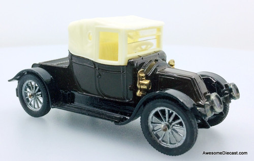 Corgi 1910 Renault Type AG Convertible, Brown