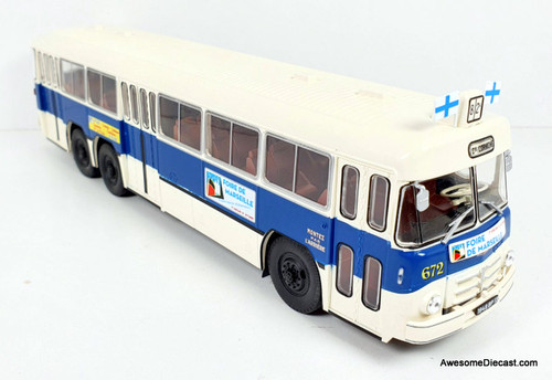 Hatchette 1:43 1954 Berliet PBR 10 6x2: RTM Buses Marseille Fair, France