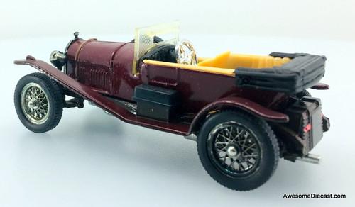 Corgi 1927 Bentley 3 litre Convertible, Maroon