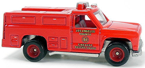 Hot Wheels 1:64 Emergency - Squad 51: LA County FD 75th Anniversary
