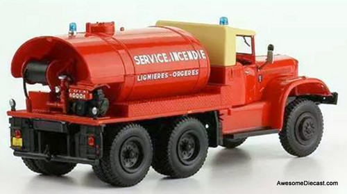 Hatchette 1:43 Diamond 500L 6x6: Lignières-Orgères Fire Department, France