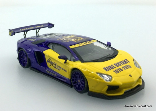 Time Collectibles 1:64 Lamborghini Aventador: Tribute To Kobe Bryant